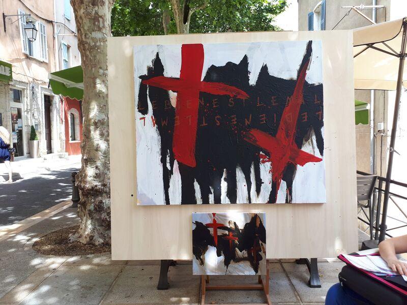 peintres dans la rue - Edition 2019 - Corinne Bonifay