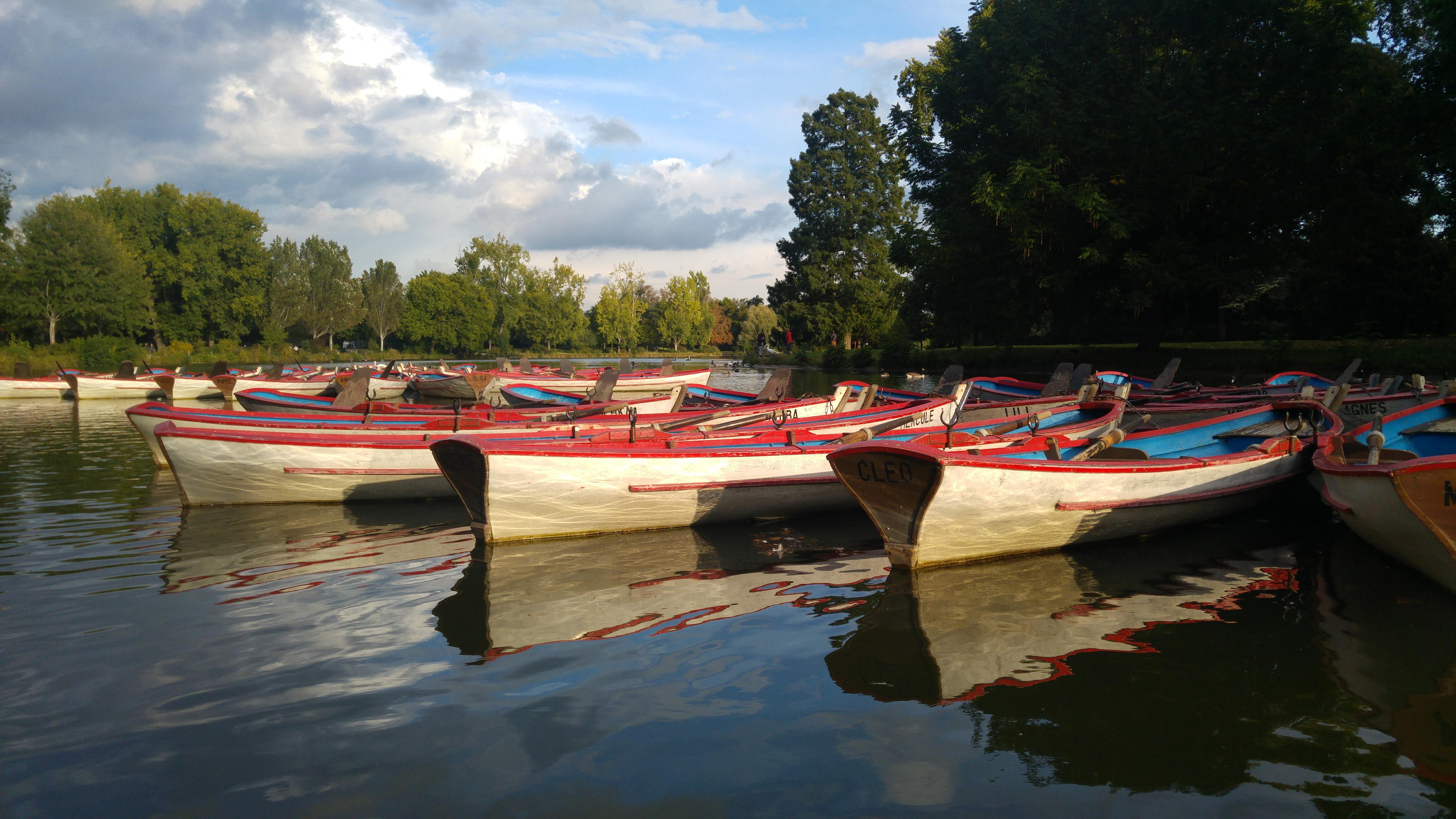 Barques du Lac de Daumesnil
