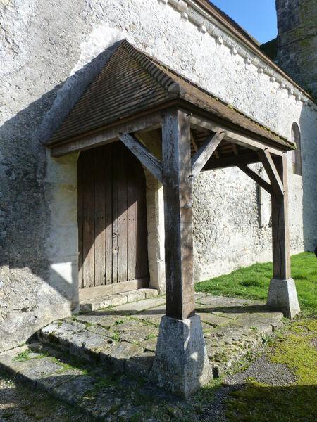 porche église