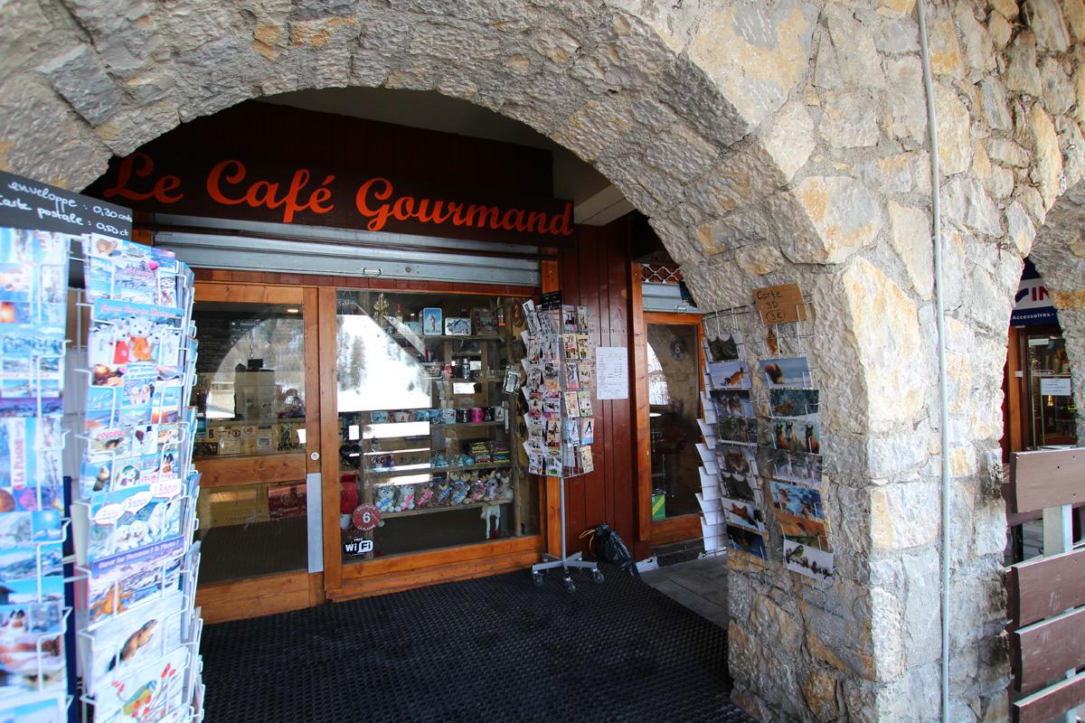 Le caf gourmand la plagne station de ski la plagne - Service cafe gourmand ardoise ...