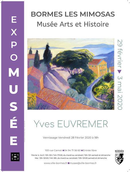Annulée - Exposition de Yves EUVREMER