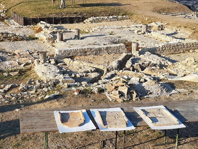 Fouilles du site archéologique