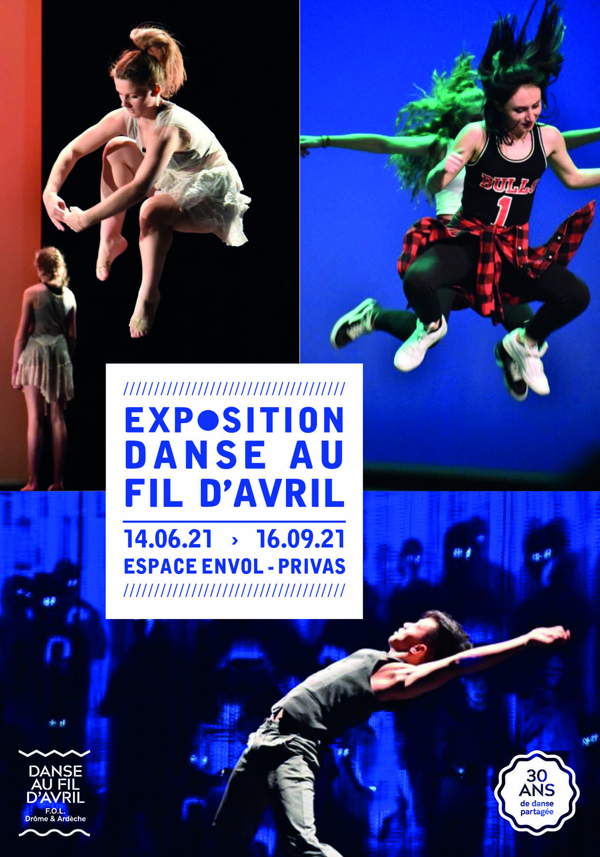Rendez-vous futés ! : Exposition « Danse au fil d'Avril : 30 ans d'éclats ! »