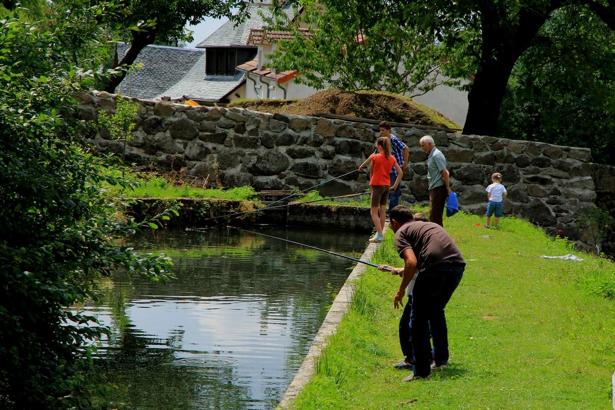 GAEC des Etangs de Marfon - Trout farm and fishing