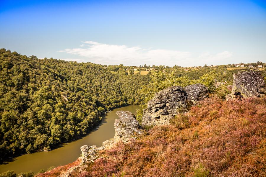 Tour du Tarn à cheval : Sainte-Gemme / Saussenac