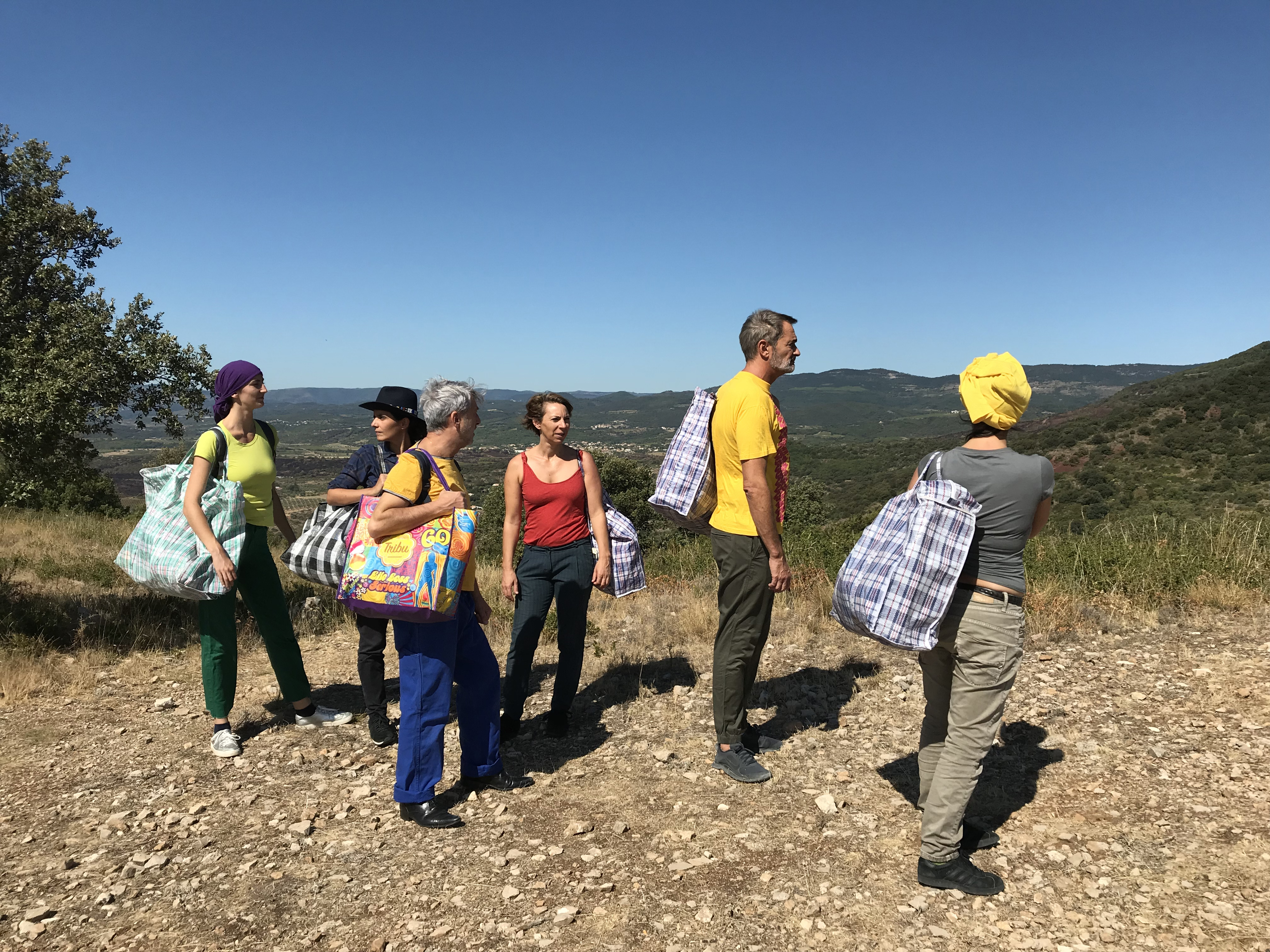 En Ardèche Buissonnière : que faire à Privas ? : Tribu in situ : Performance danse participative