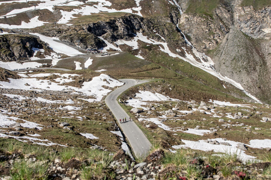 Route Col de L'iseran