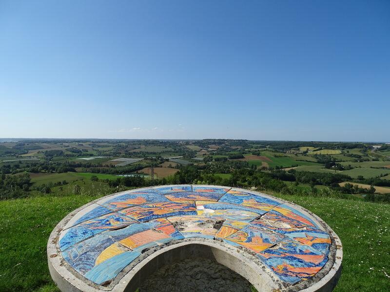 Point de vue du château d'eau