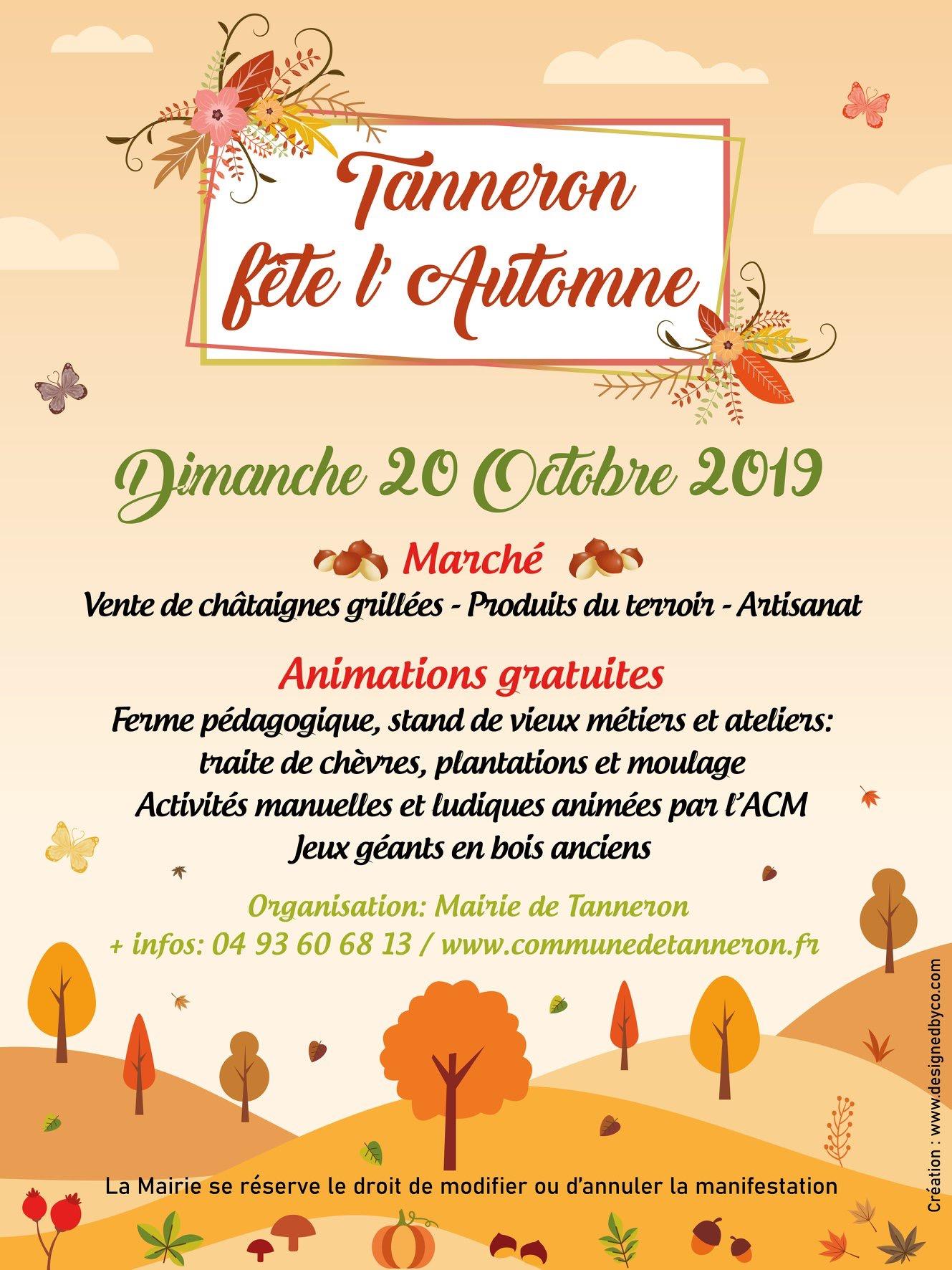 Tanneron fête l'automne