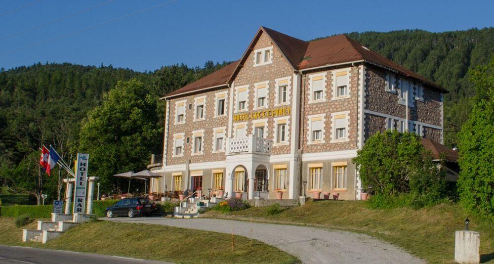 L'hôtel Lac et forêt