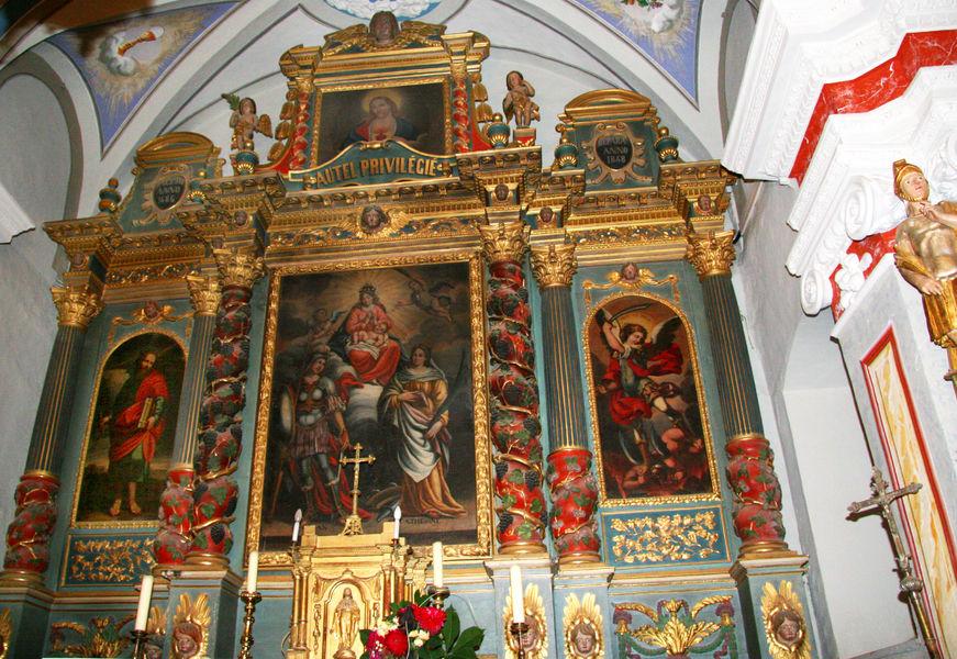 eglise baroque albanne