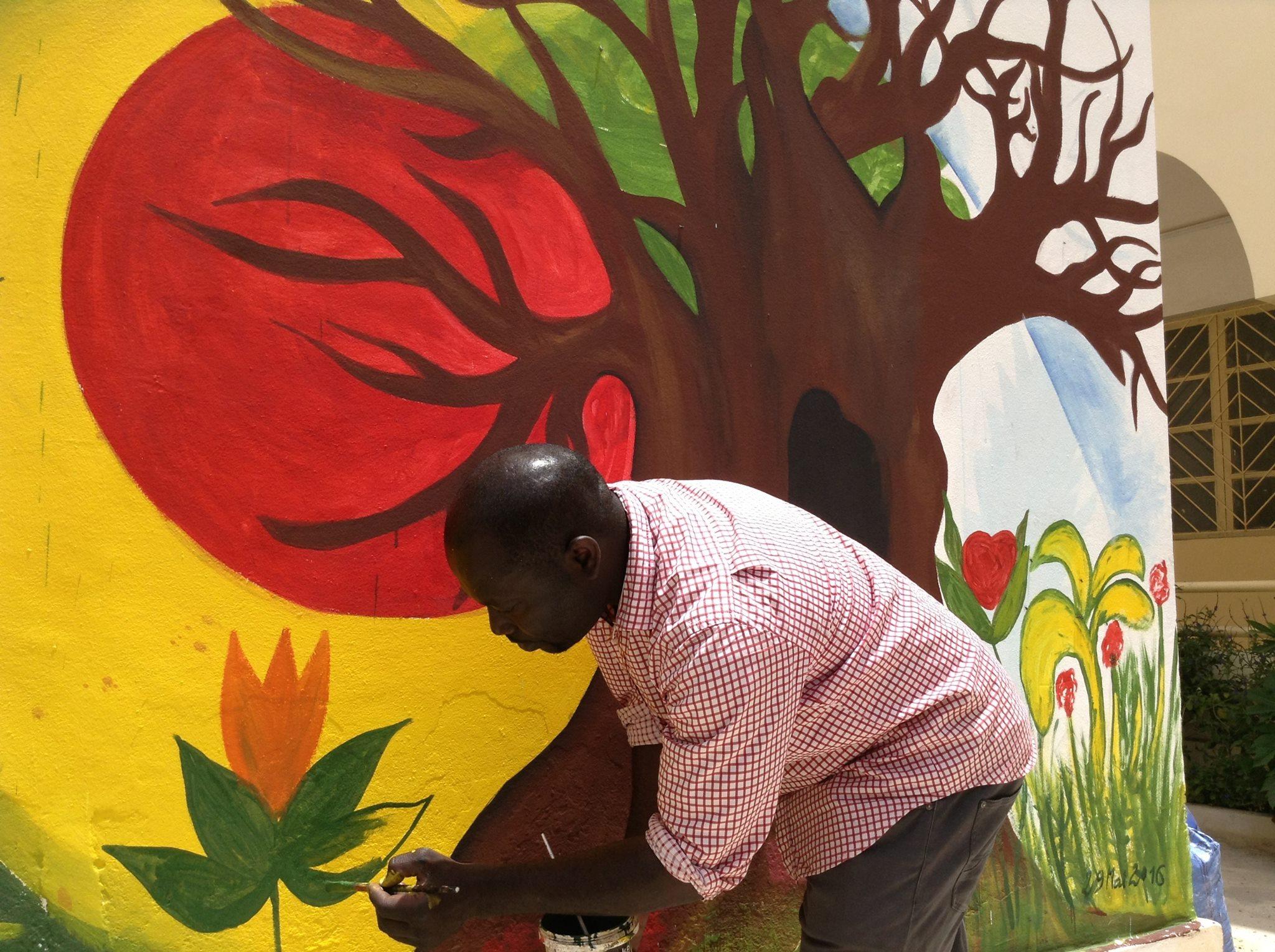 Alle leuke evenementen! : Exposition de peintures d'Alioune Kebe