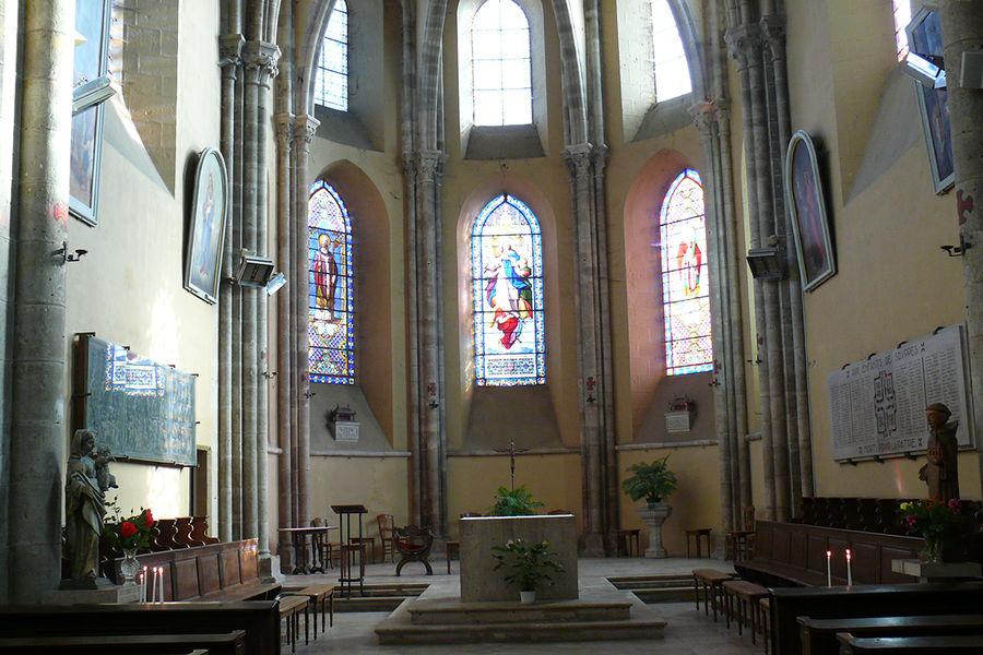 Eglise Saint Clair de Souppes sur Loing