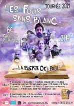 Spectacle les Fous sans blanc - Saint-Maurice-d'Ibie