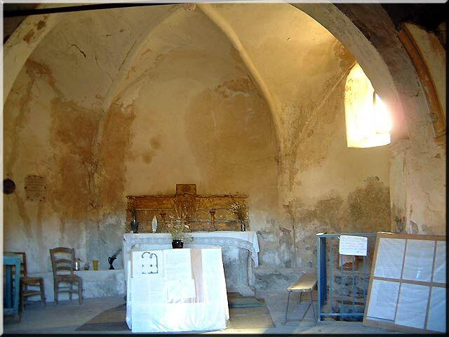Chapelle et crypte Dromon