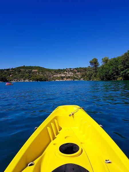 Lac en Canoë