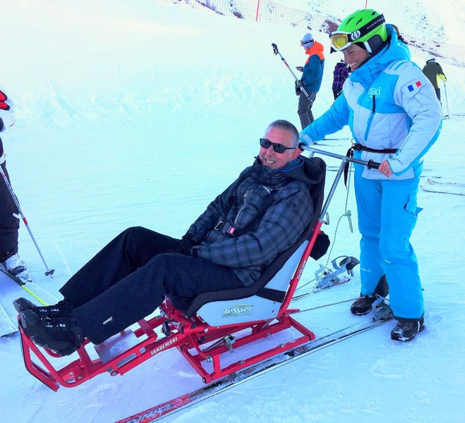 Taxiski / Ski for disabled people- Esi