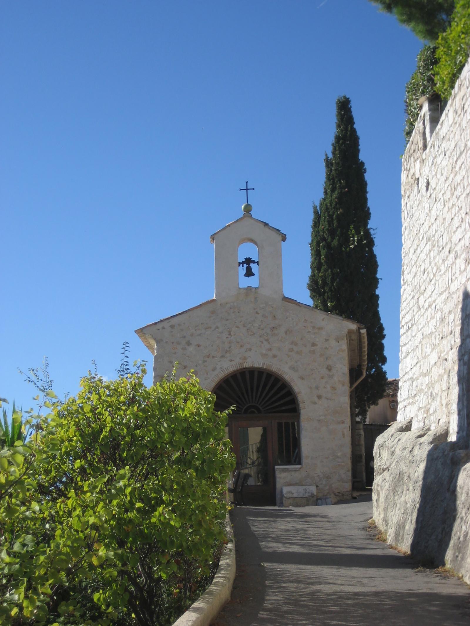 Image result for st paul de vence The Chapel of Saint-Charles and Saint-Claude chapel
