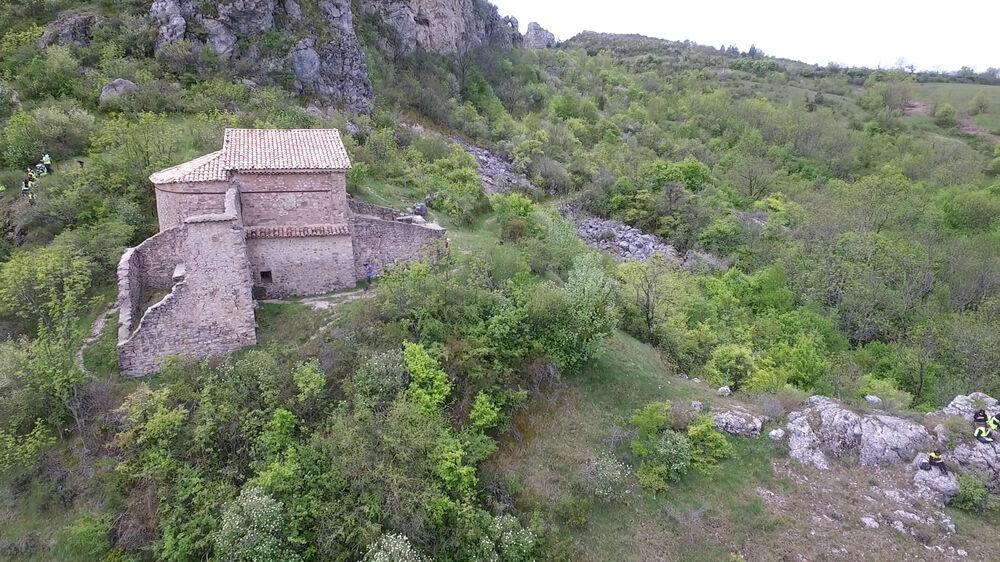 Chapelle et crypte de Dromon