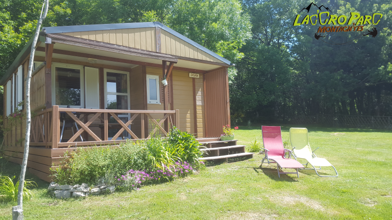 Les Chalets Lac'cro Parc Montagn'yes - Locations Saisonnières