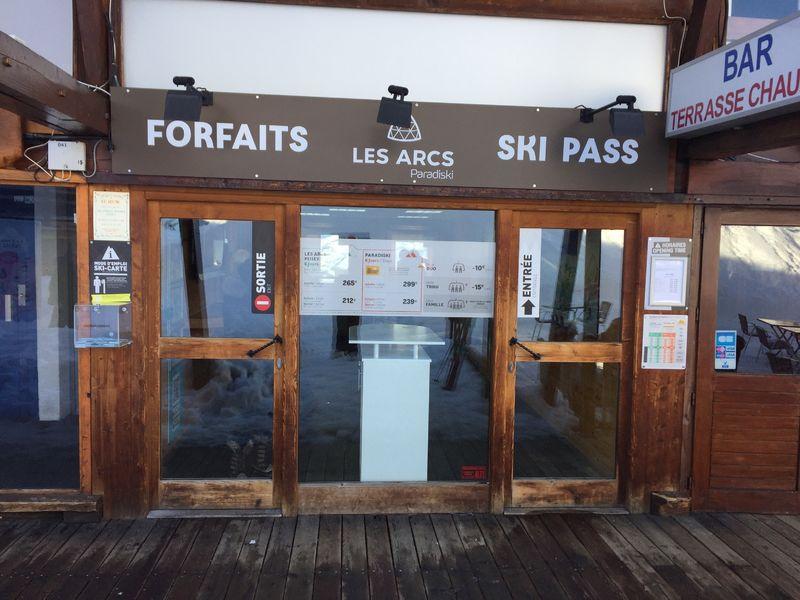 Skipasses Arc 1600