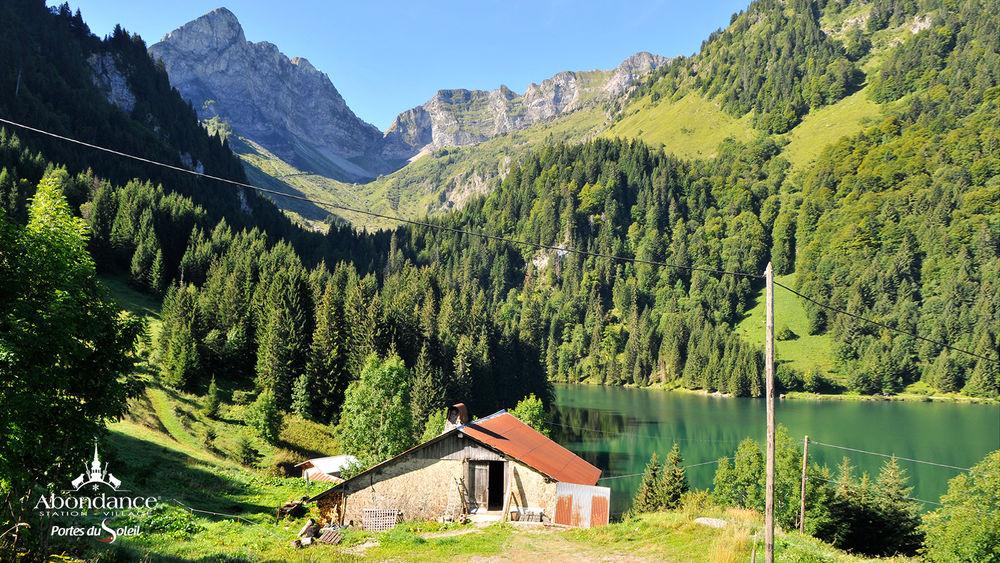 Randonnée du Lac des Plagnes et du Lac de Tavaneuse (boucle)