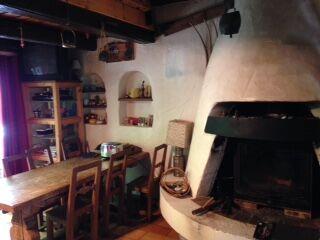 Chalet Eyvrard cheminée