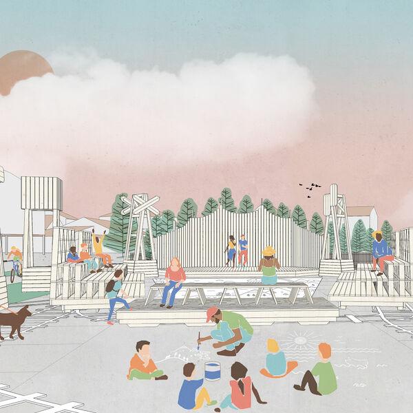 Journées nationales de l'architecture : Cheminement au cœur du quartier des trois Fontaines - Complet