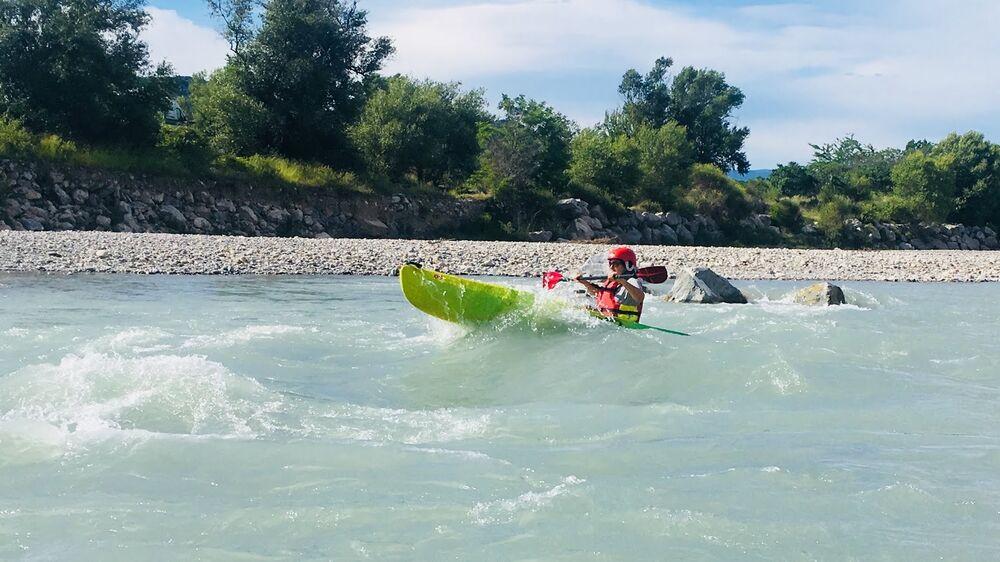 Kayak sur la Durance