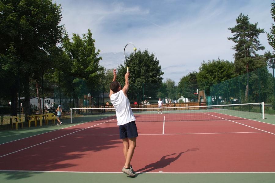 Tennis - Camping Saint-Disdille