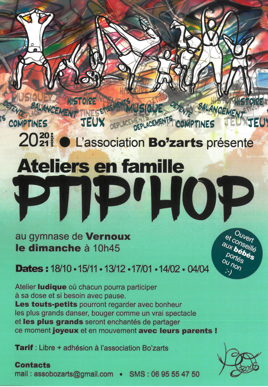 Rendez-vous futés ! : Atelier Ptip'hop (atelier ludique en famille)