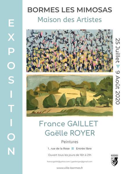 Exposition France Gaillet et Gaëlle Royer