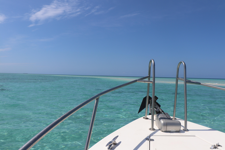 Excursion en mer sur l'îlot Tiambouene