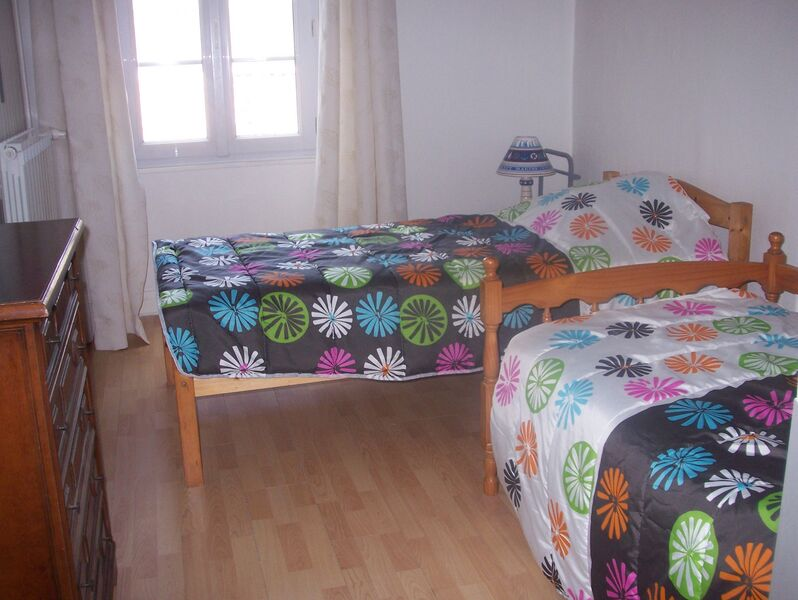 Chambre lits simples 2