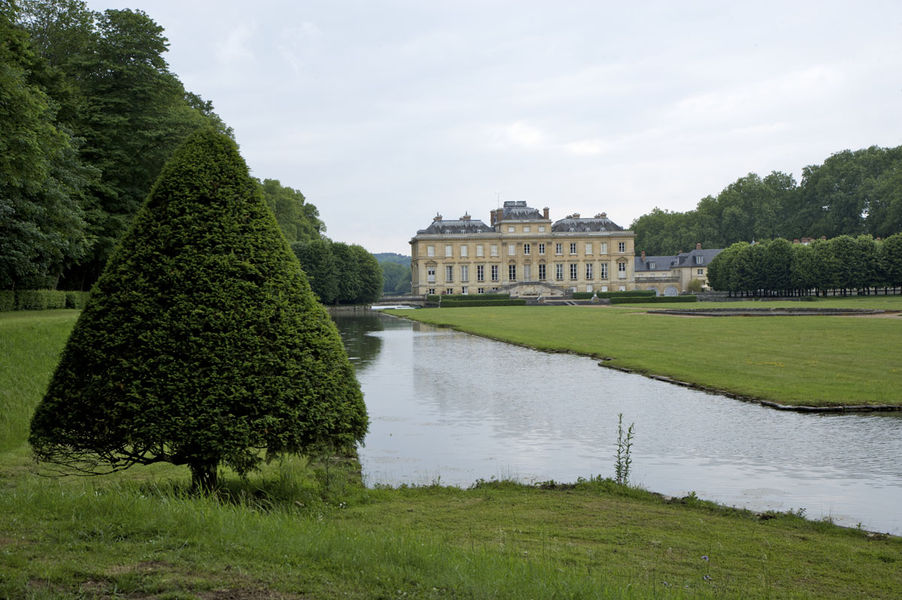 Park of the château du Marais