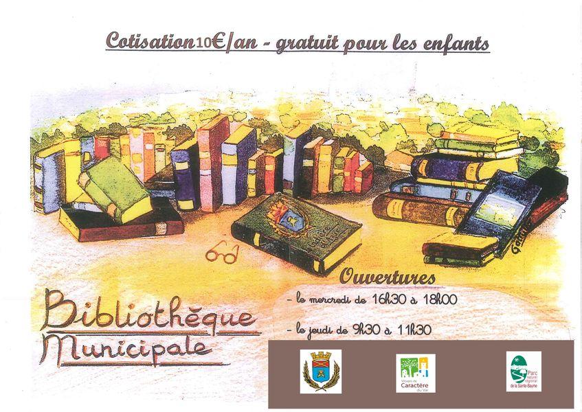 Bibliothèque - Horaires - Mairie