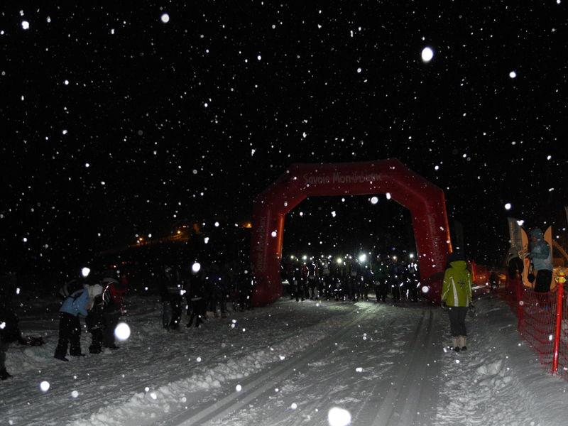 Trail nocturne d\'hiver, Pralognan-la-Vanoise