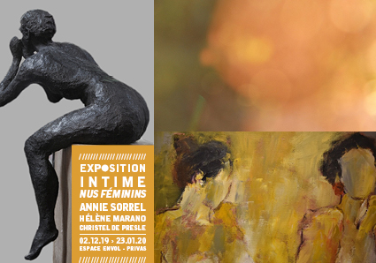 Events…Put it in your diary : Exposition intime : Nus féminins