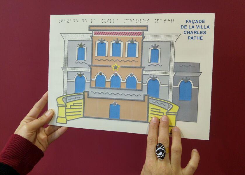 Plan de la villa Pathé.