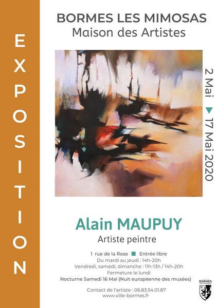 Annulée - Exposition Alain Maupuy