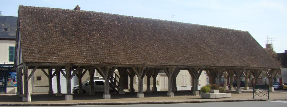 La halle de Beaumont