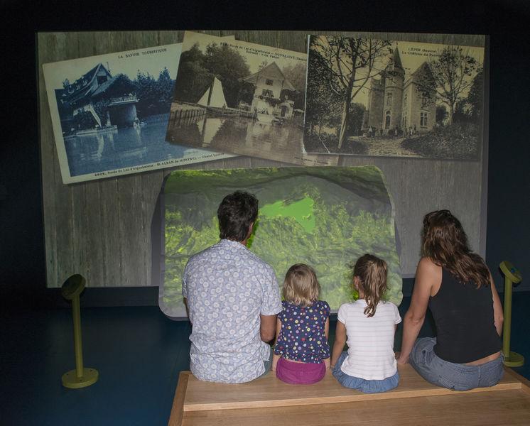 Film - Parcours spectacle du lac d'Aiguebelette