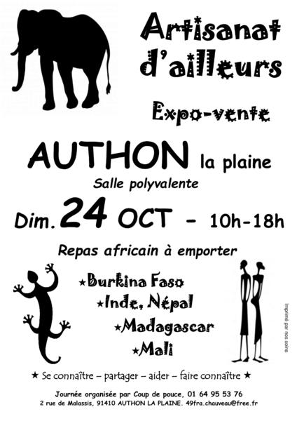 Expo-vente « Artisanat D'ailleurs »