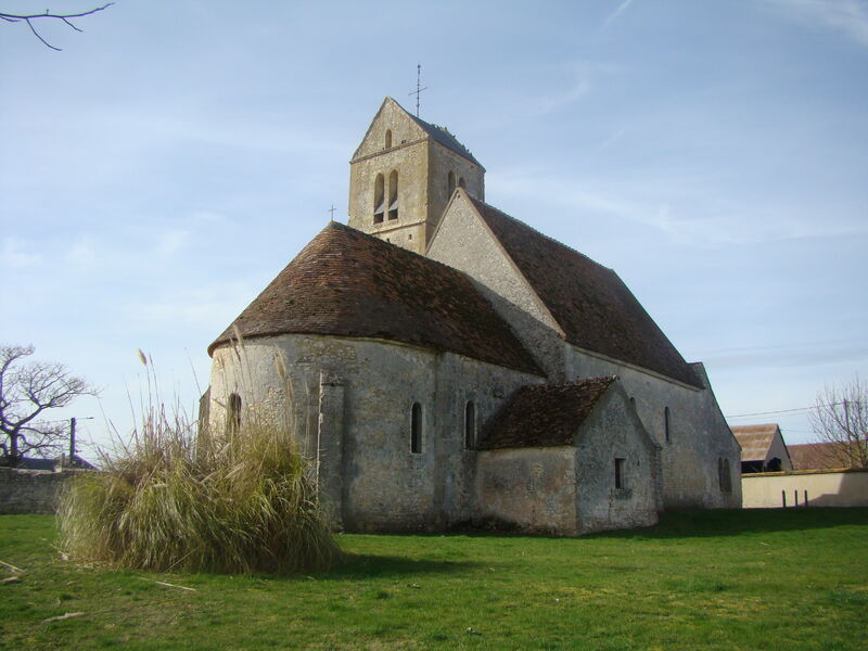 église saint Etienne Mondreville