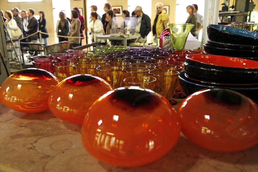 Art glassware Soisy-sur-Ecole