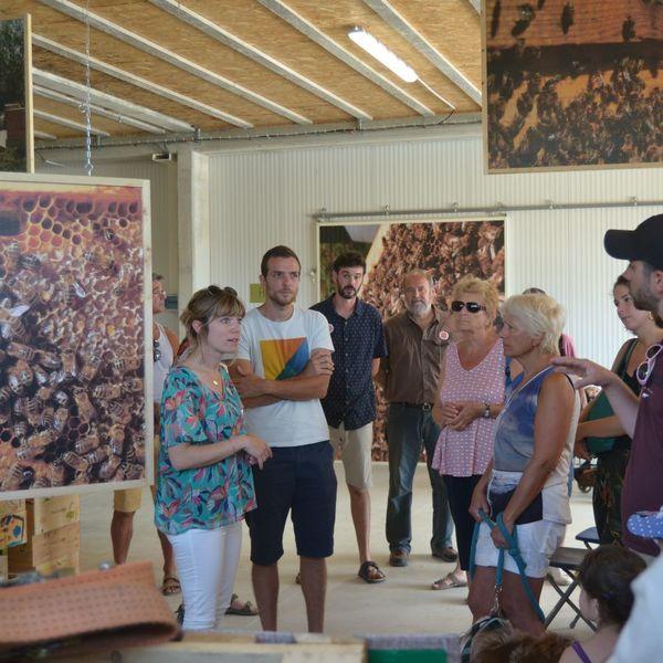 Visite guidée de la miellerie la Butinerie