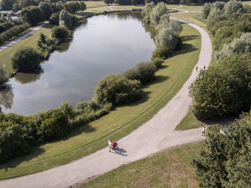 Parc Georges Brassens à Massy