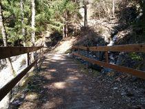 Sentier des villages - Pont en bois