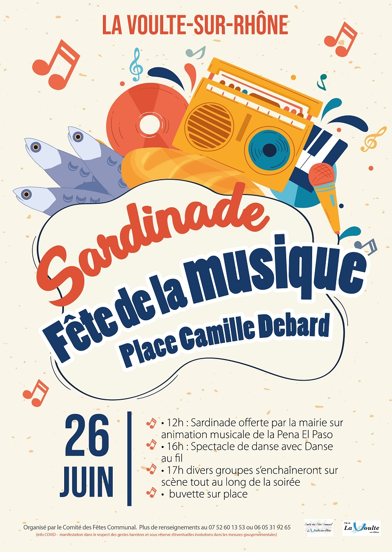 Alle leuke evenementen! : Fête de la musique & Sardinade