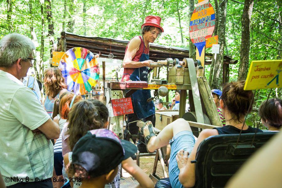 Mini festival Pré en Bulles  de lassociation Zébullons